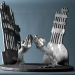 Reflections at a Time of Transformation mumtaz hussain sculpture