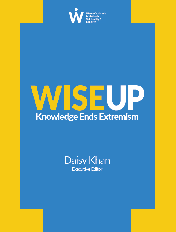 Donate to WISE WISE Up Book Cover 2