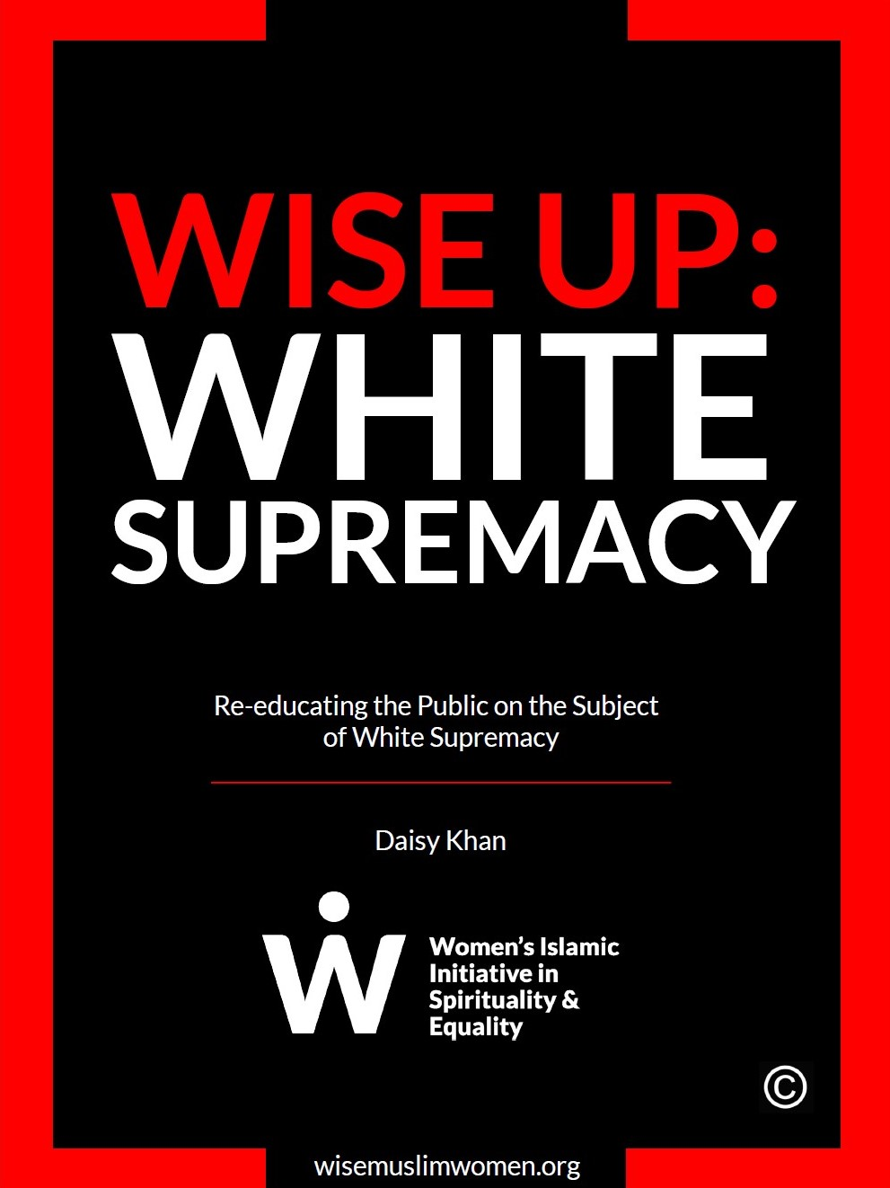 Donate to WISE Rise Up Again White Supremacy